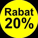 gu 20% rabat