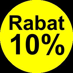 gul sort rabat etiket