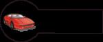 Navnemærke klistermærke med navn strygemærke med bil