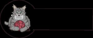 Navnemærke klistermærke med navn strygemærke med kat