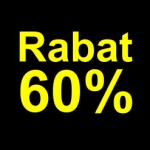 sort gul 60 % rabat etiket